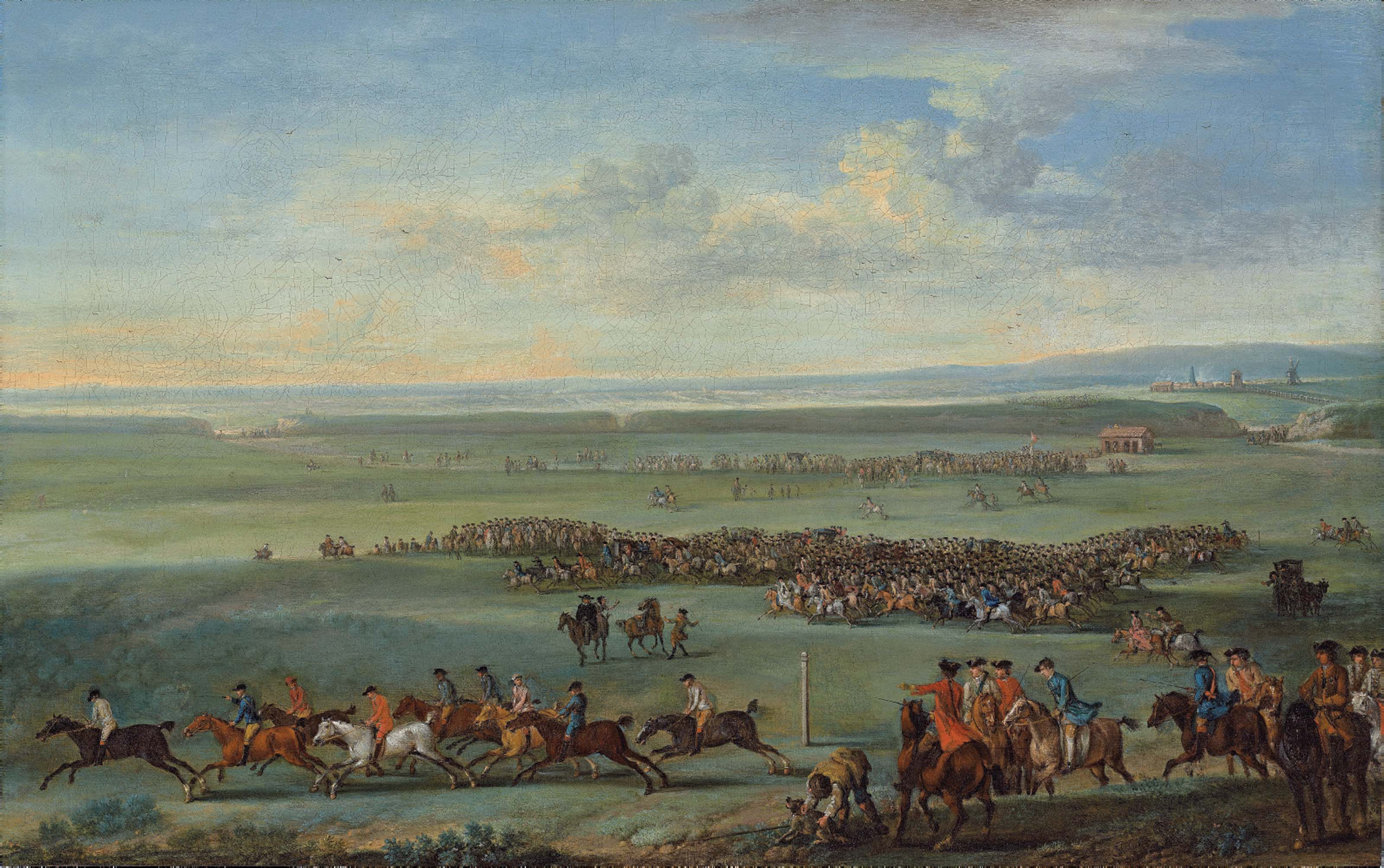A Race Meeting at Newmarket