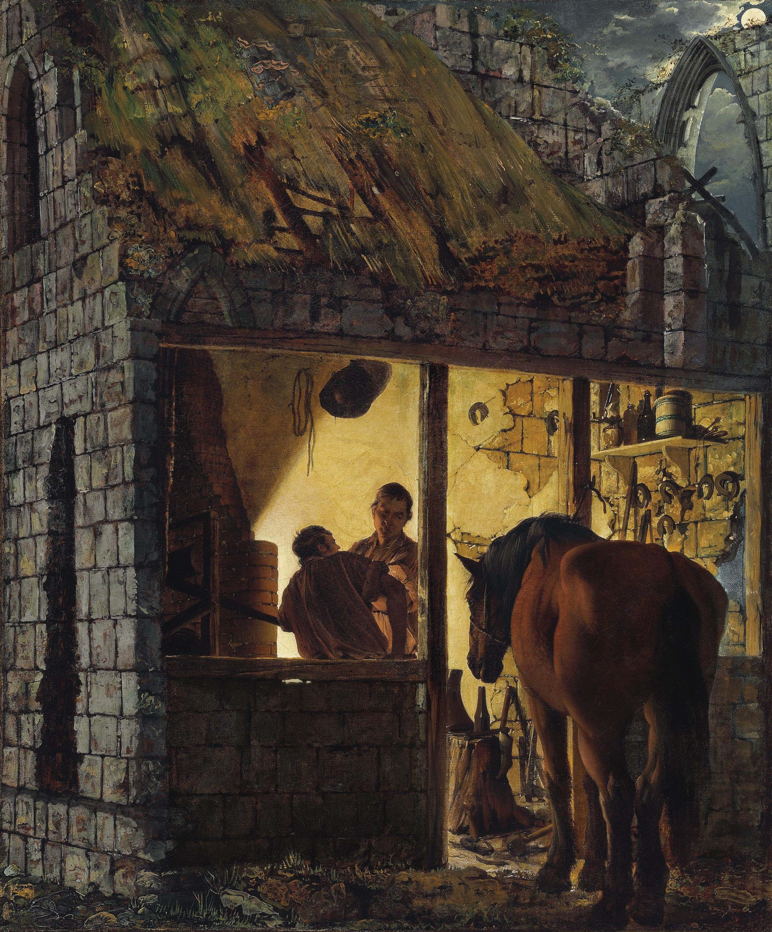 A Blacksmith's Shop