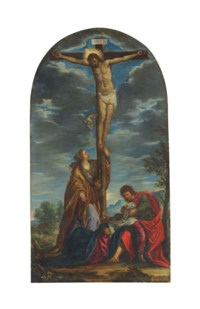 The Crucifixion with the Madonna and Saints John the Evangelist and Mary Magdalene