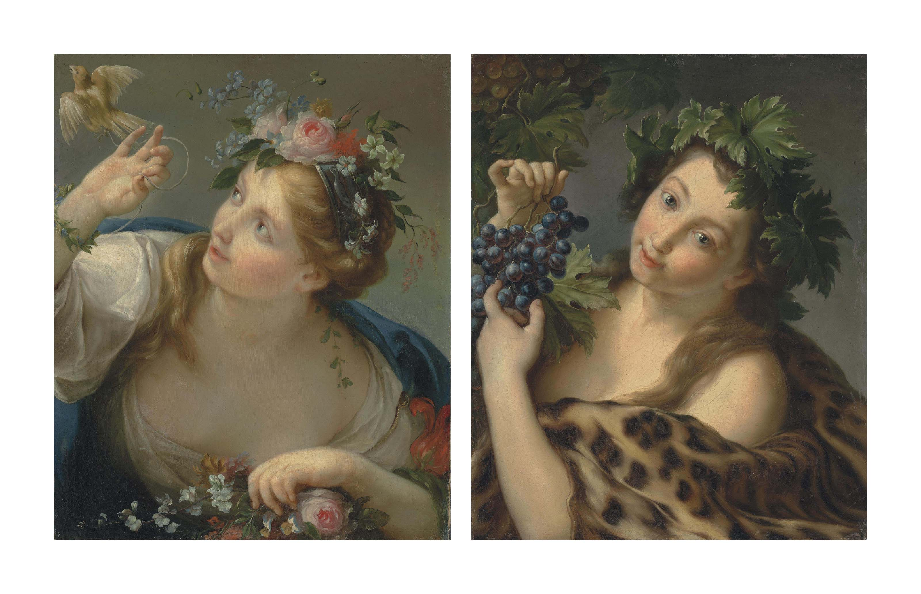 Allegory of Spring; and Allegory of Autumn