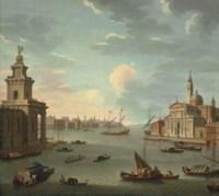 The Bacino di San Marco, Venice, with the Punta della Dogana and San Giorgio Maggiore