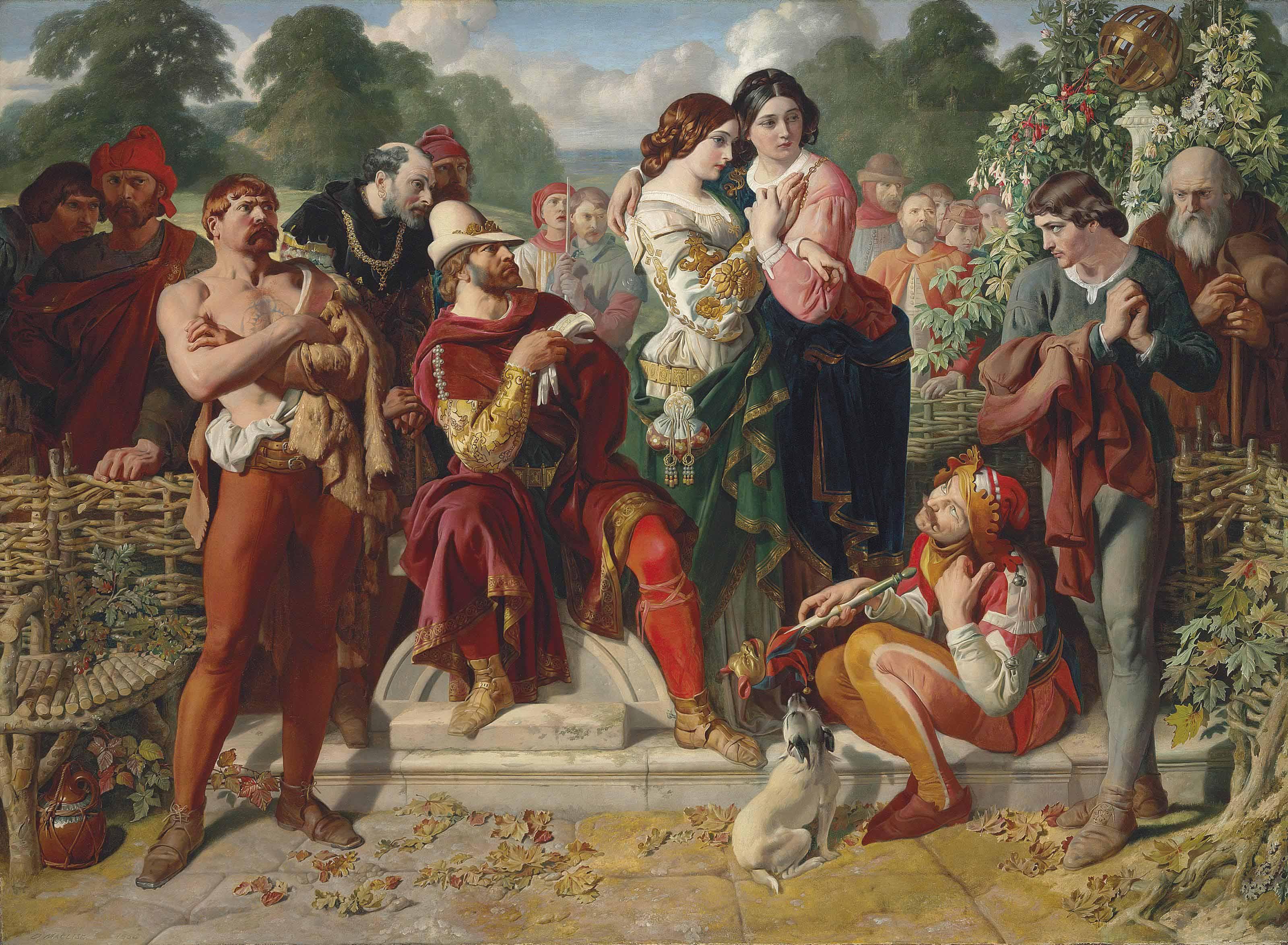 Daniel Maclise, R.A. (1806-1870)