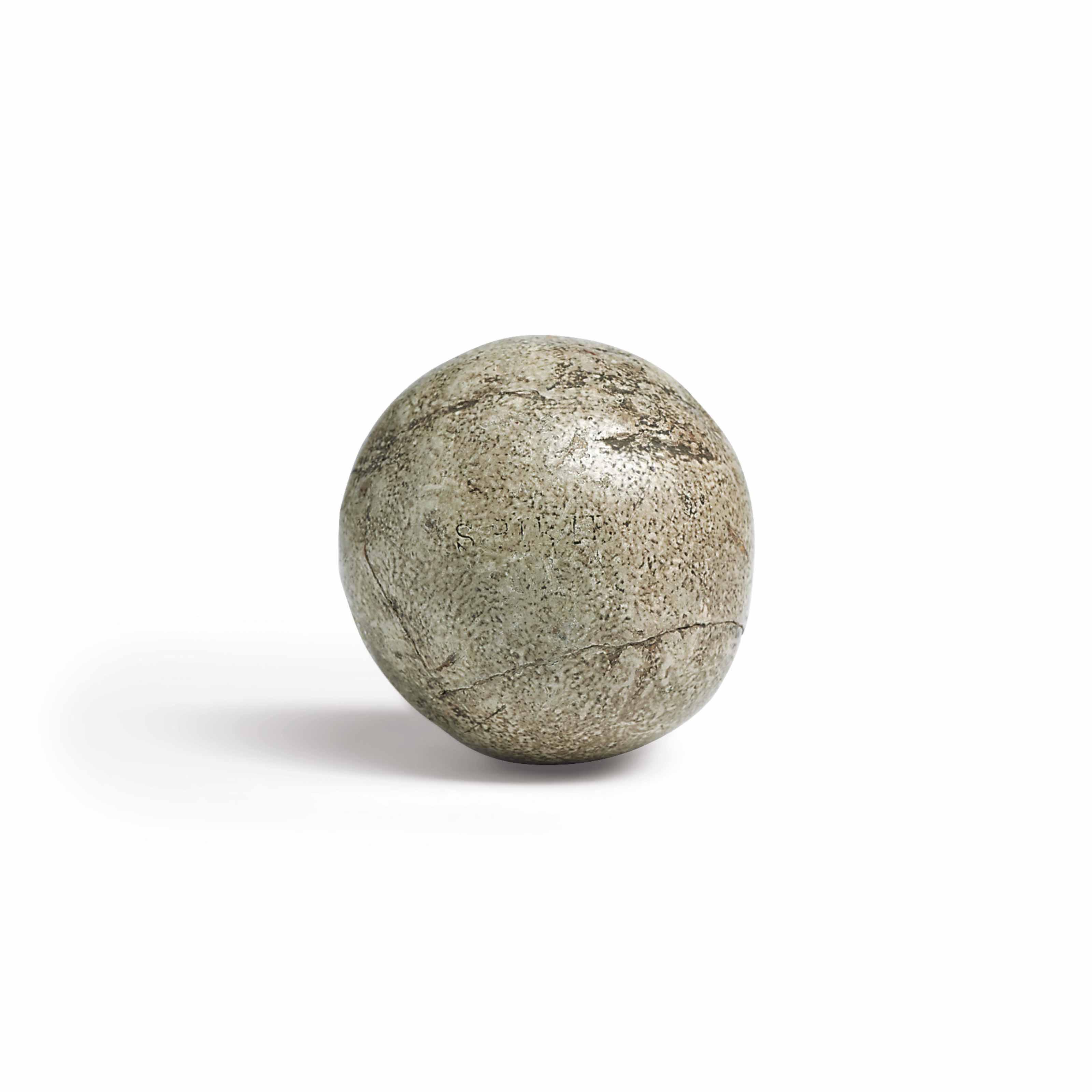 A FINE FEATHER-FILLED GOLF BALL