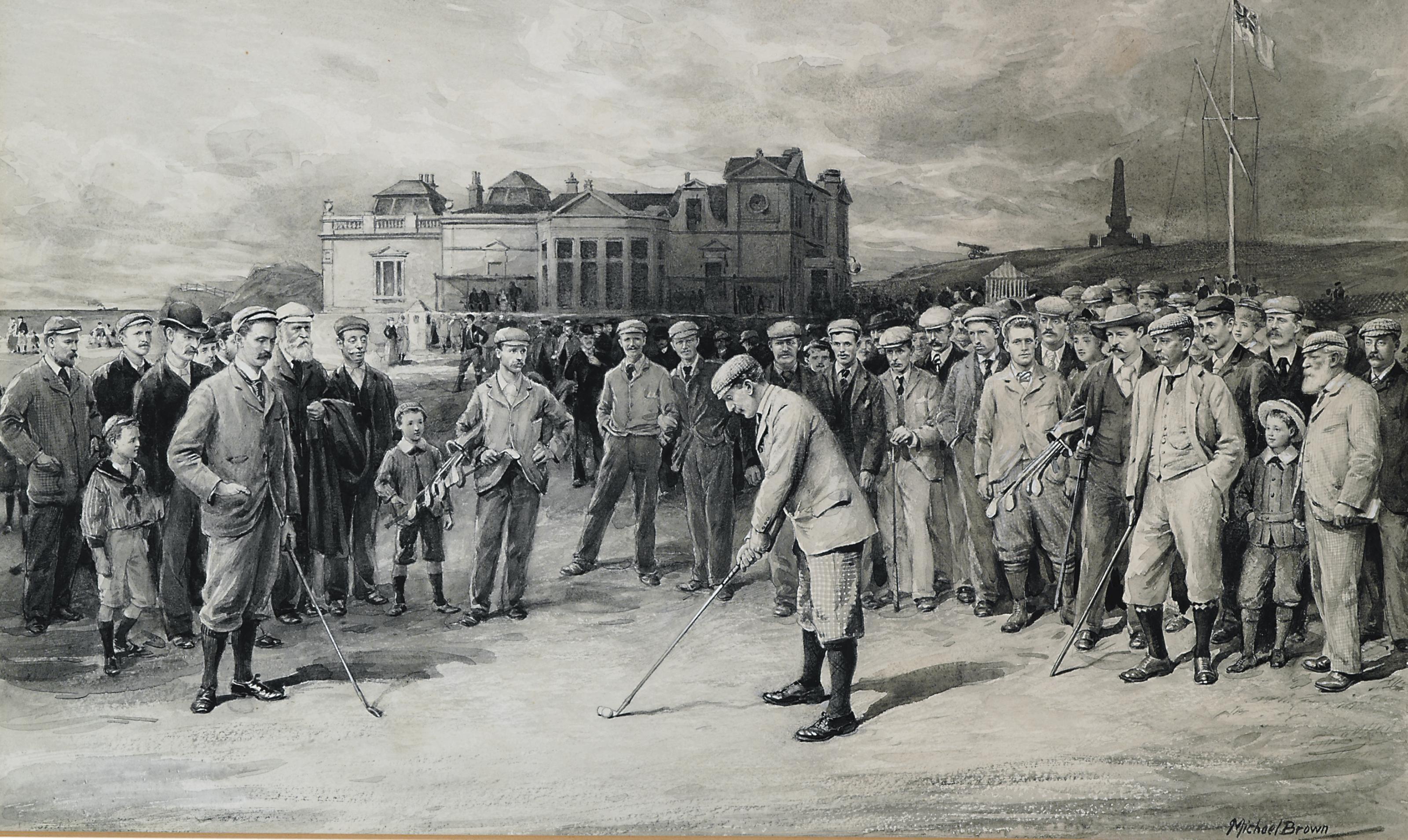 (James) Michael Brown (1843-19