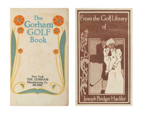 THE GORHAM GOLF BOOK. NEW YORK