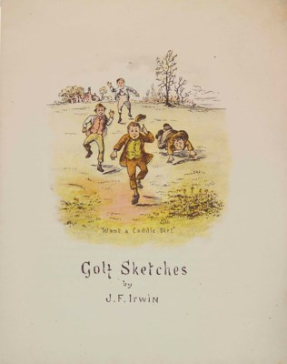 IRWIN, J.F. GOLF SKETCHES. LON