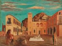 Piazza d'Italia (Mercurio e i metafisici)