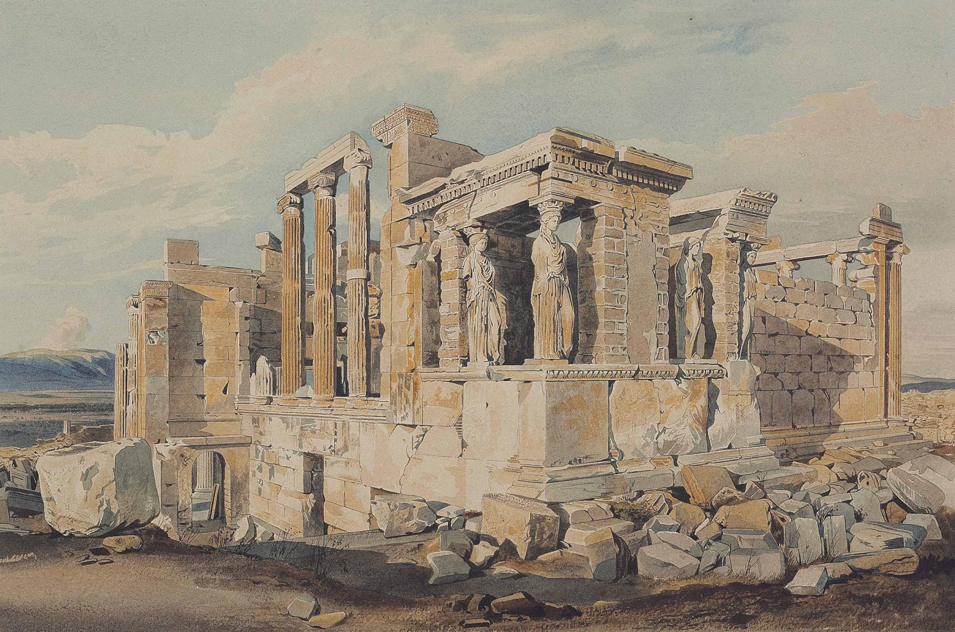 The Erectheion, Acropolis, Athens