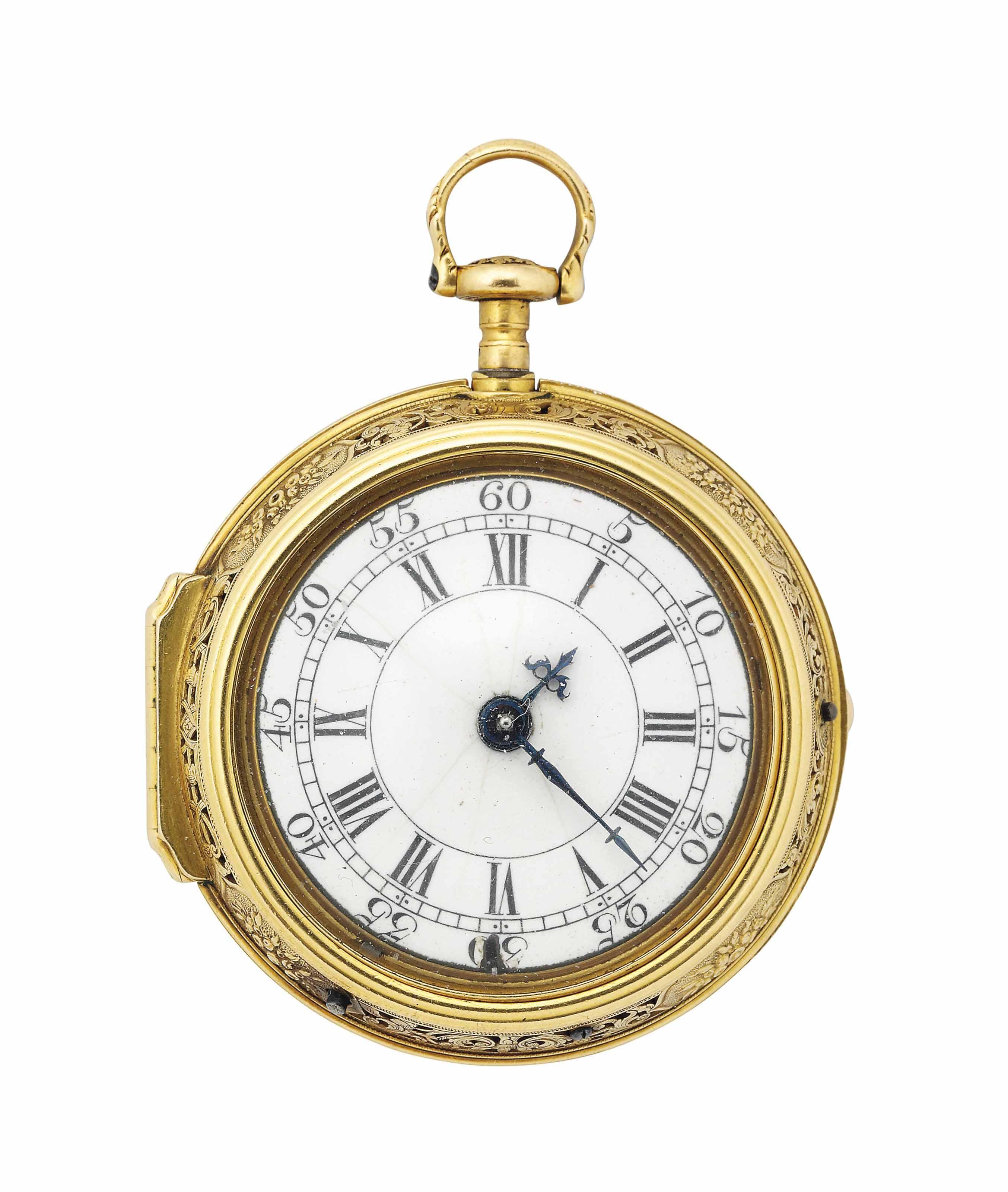 An 18th century English gold r