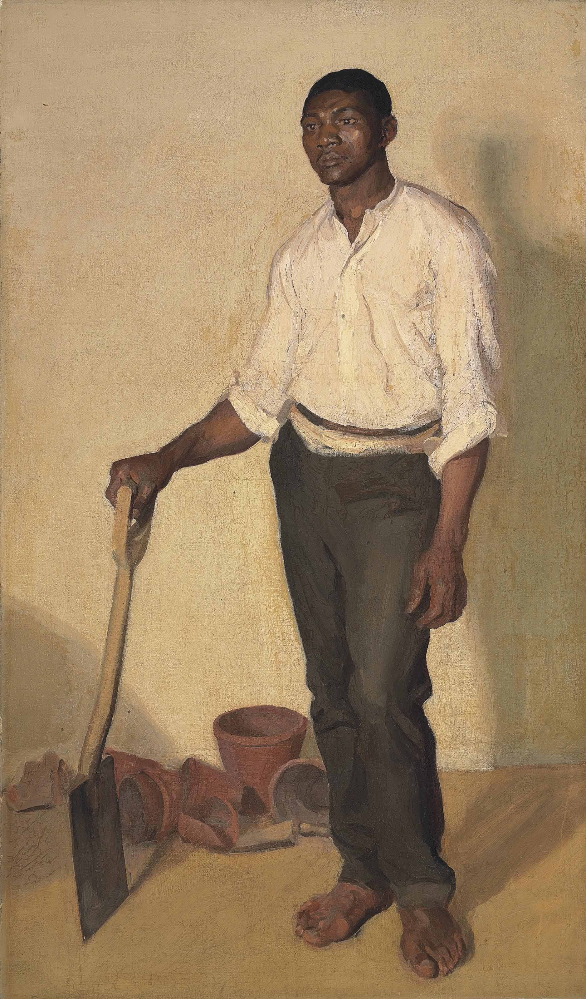 Portrait of a Negro Gardener