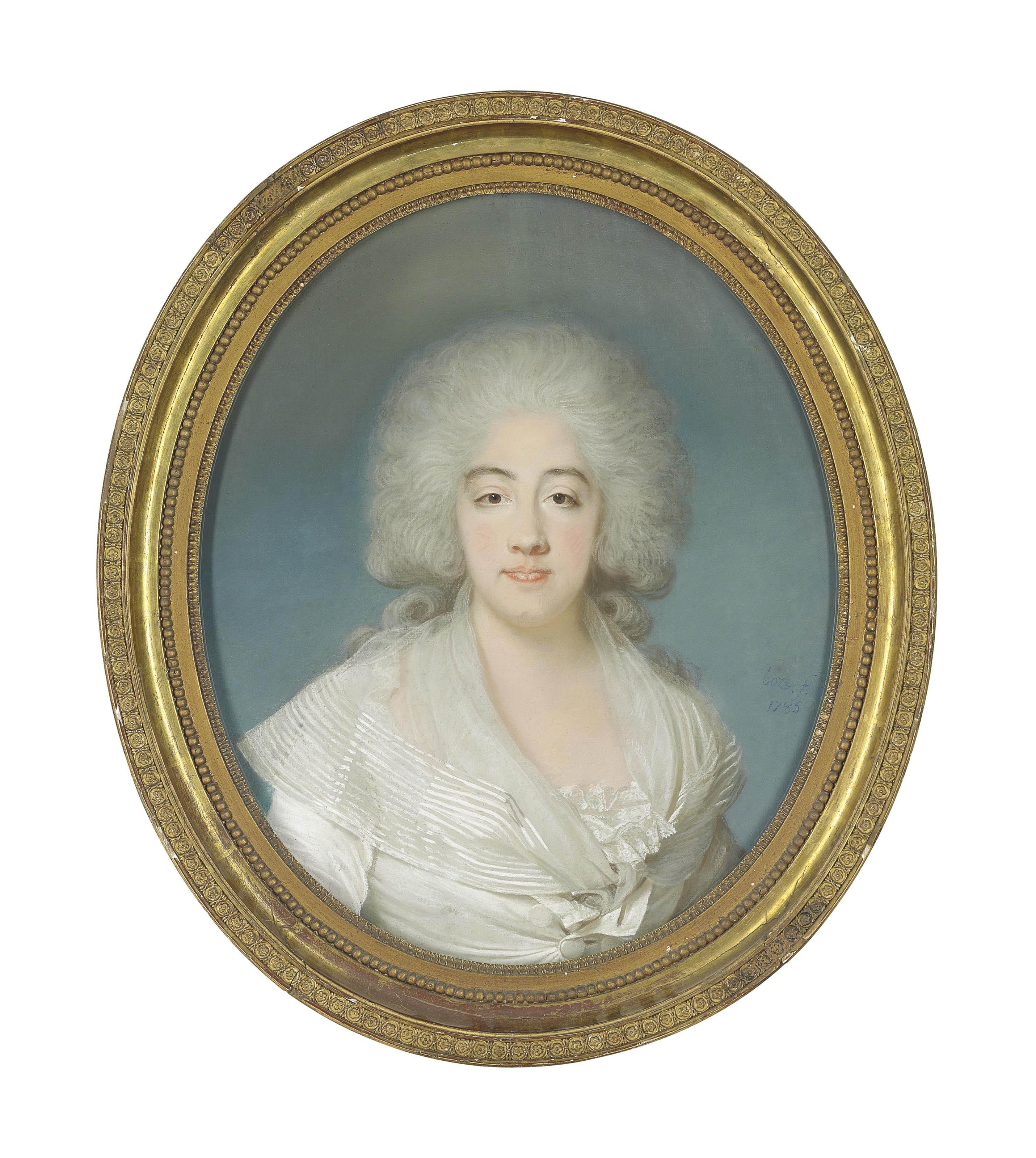 Portrait of Marie-Joséphine-Louise de Savoie, comtesse de Provence (1752-1810)