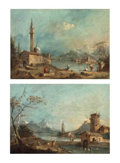 Francesco Guardi: Francesco Guardi (Venice 1712-1793) , A Capriccio With A