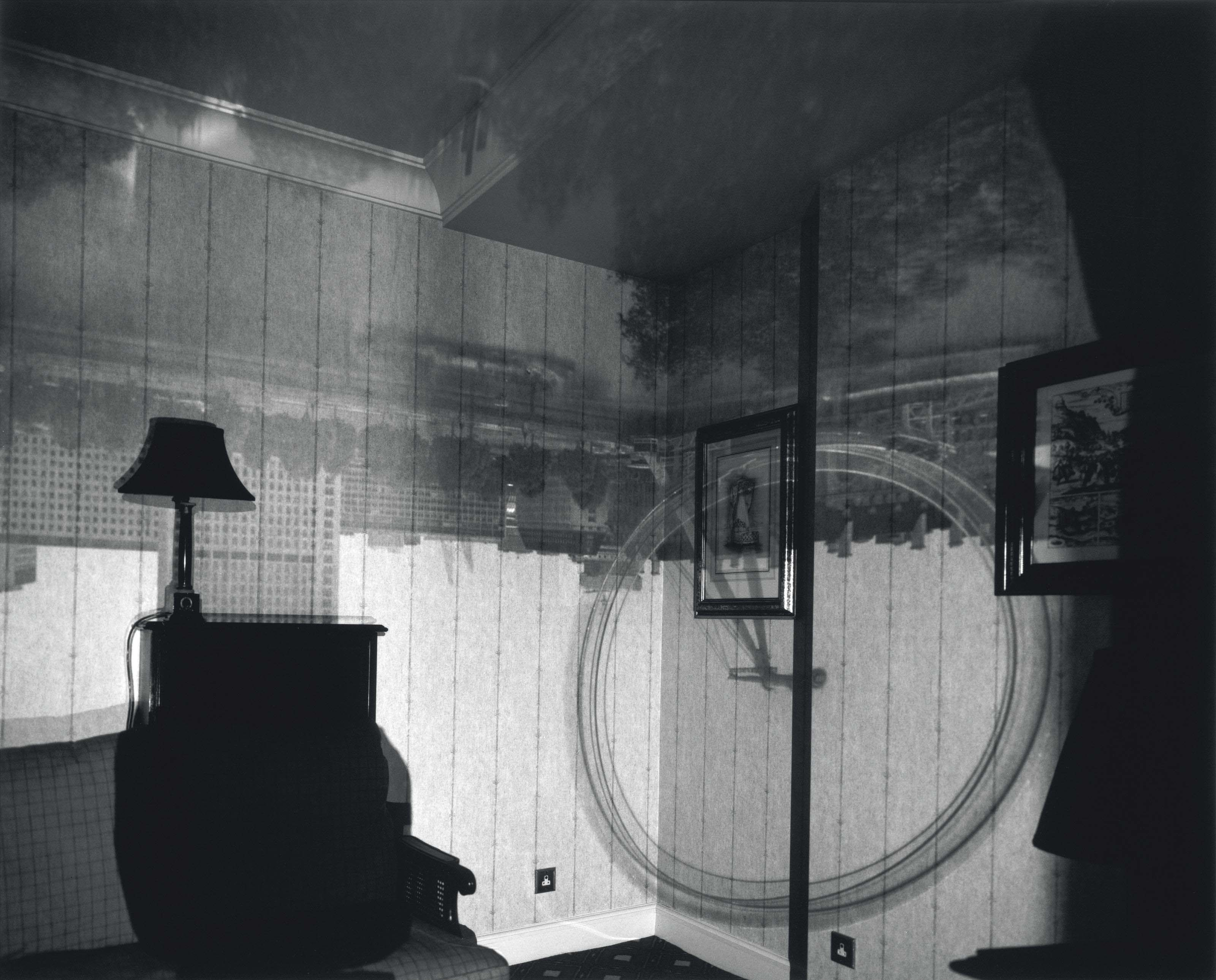 Camera Obscura Image of the London Eye, Inside the Royal Horse Guards Hotel, 2001