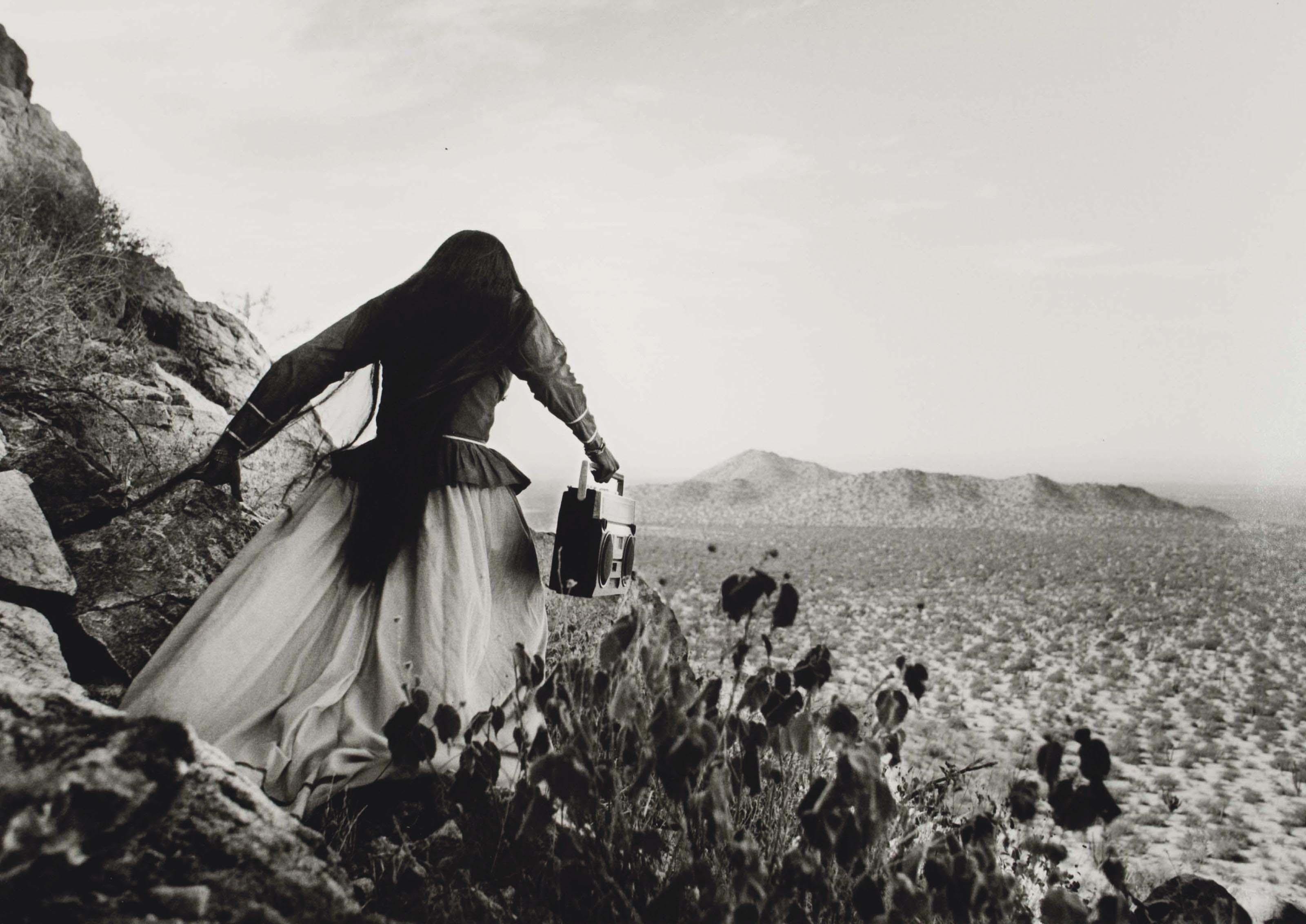Mujer, Angel, Sonora Desert, 1979