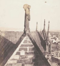 Angel of Resurrection on Roof of Notre Dame, 1853