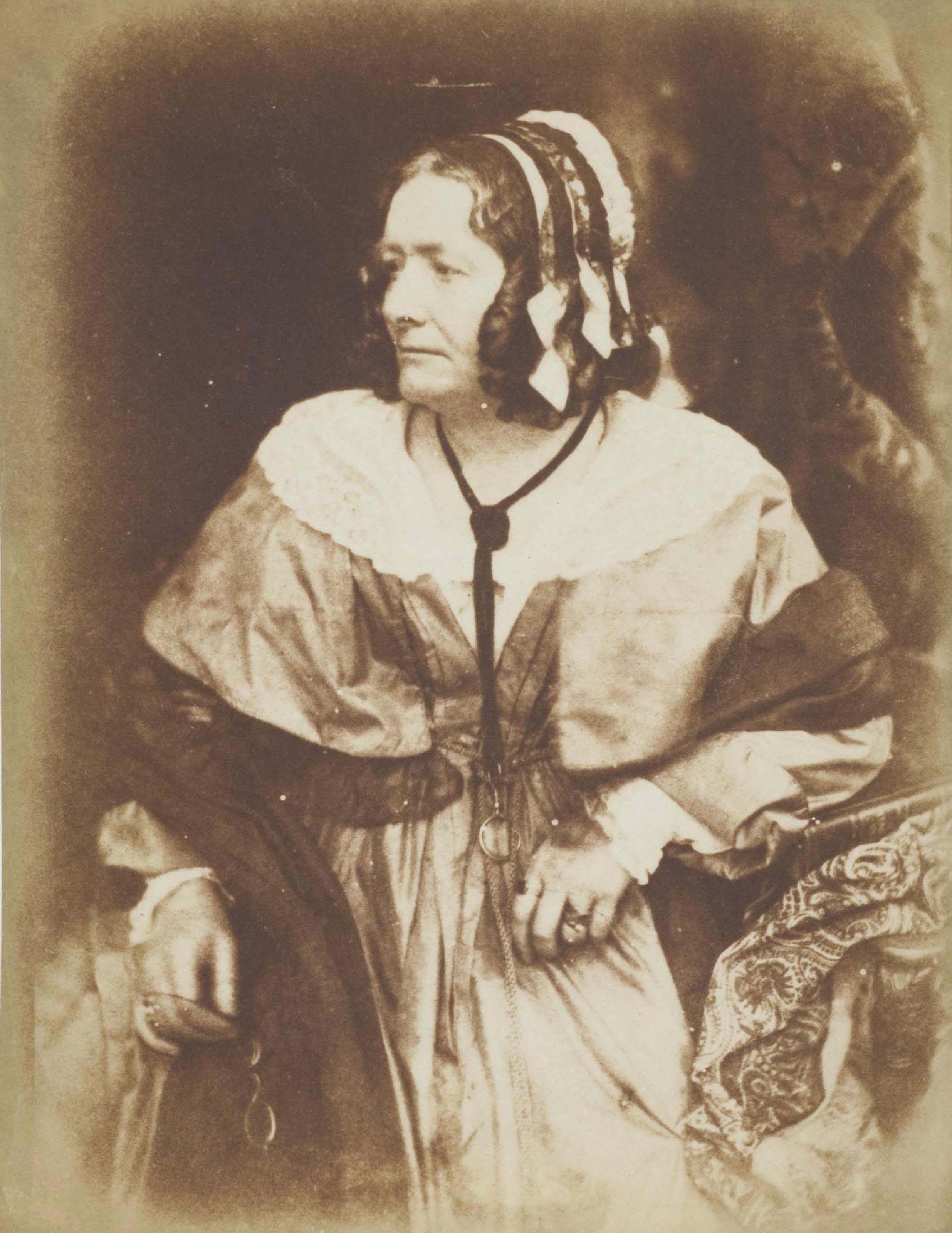Mrs. Anna (Brownell Murphy) Jameson, Art Historian and Essayist, circa 1845