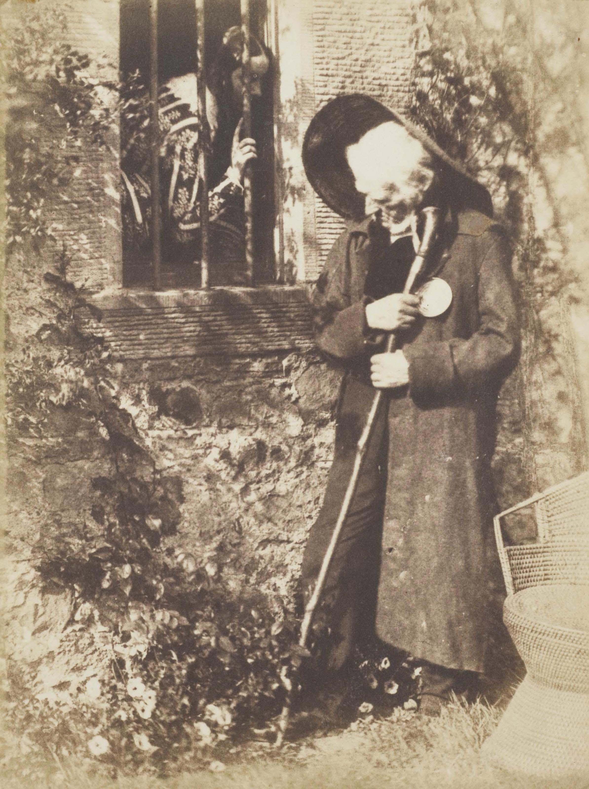 Study in Bonaly: Eddie Ochiltree, circa 1845
