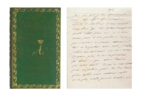 ALEXANDER I, Tsar of Russia (1801-1825). 26 autograph letter