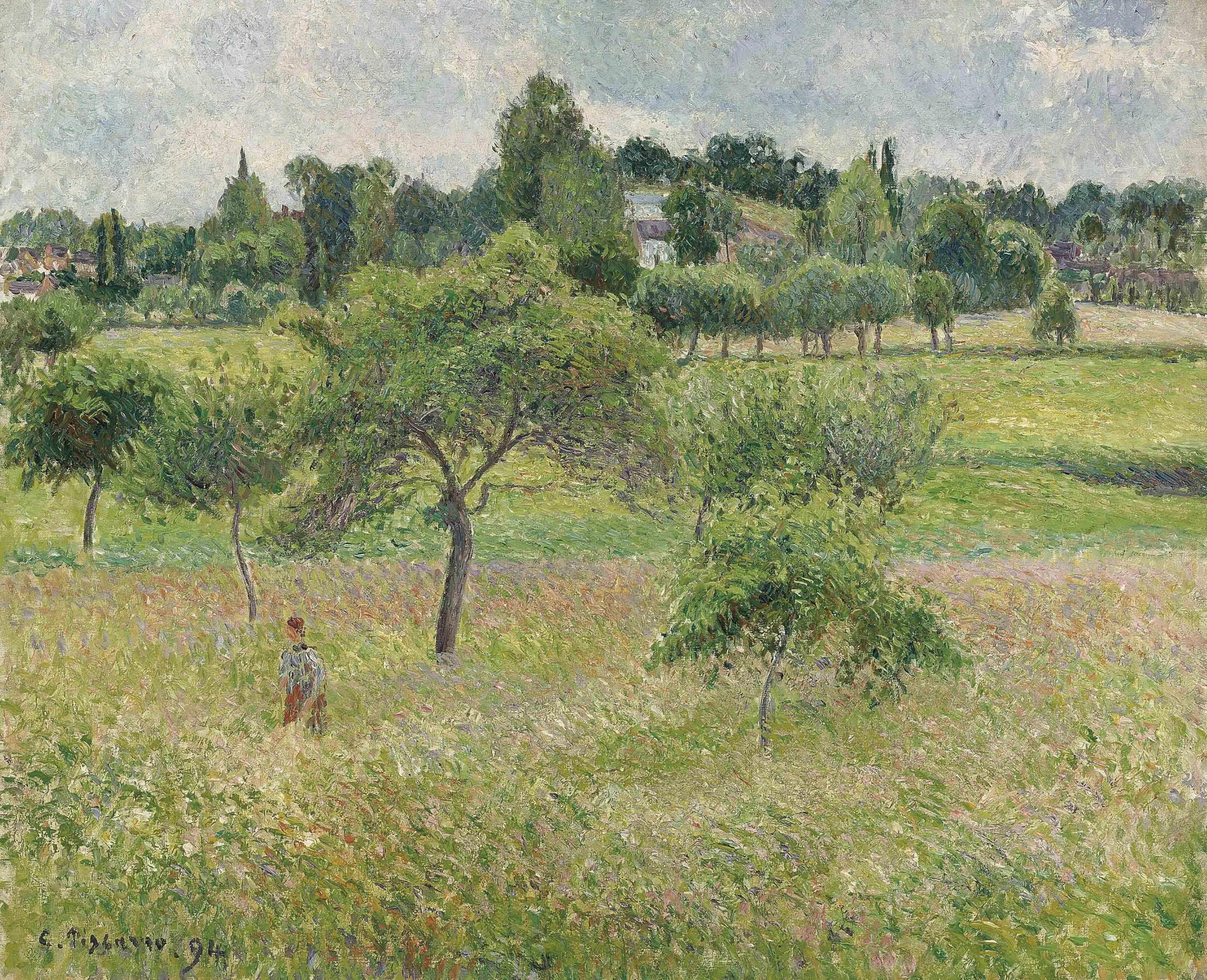 Pommiers à Éragny