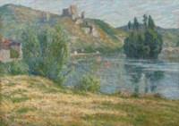 Ruines de Château Gaillard, La Seine