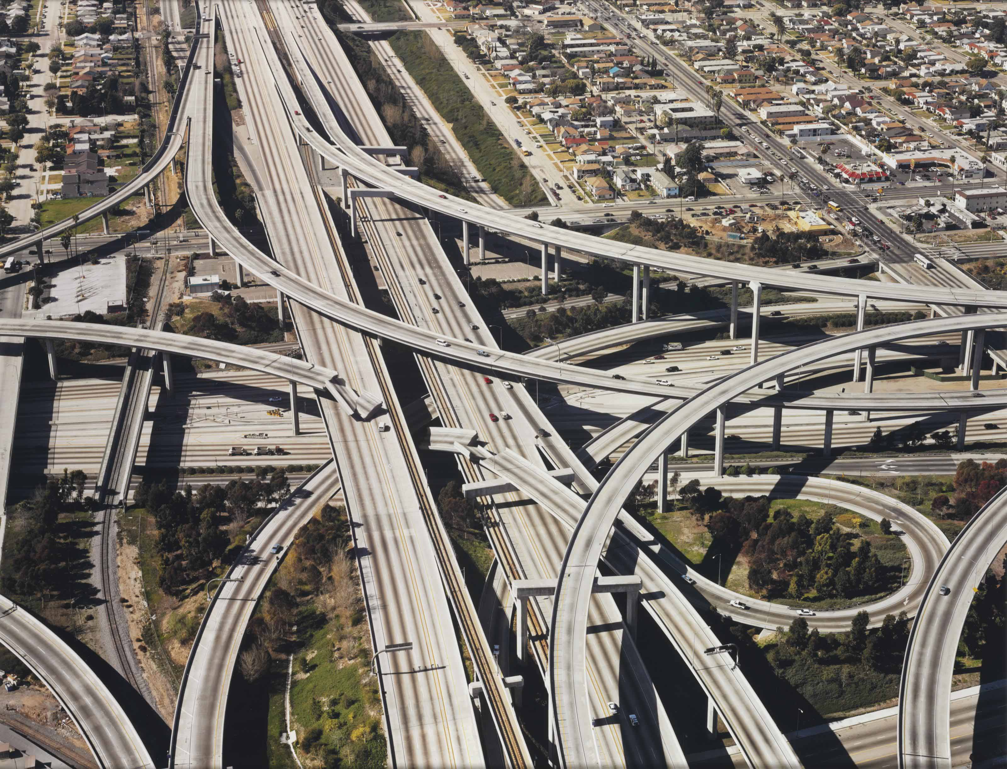 Untitled (Freeway Crash)