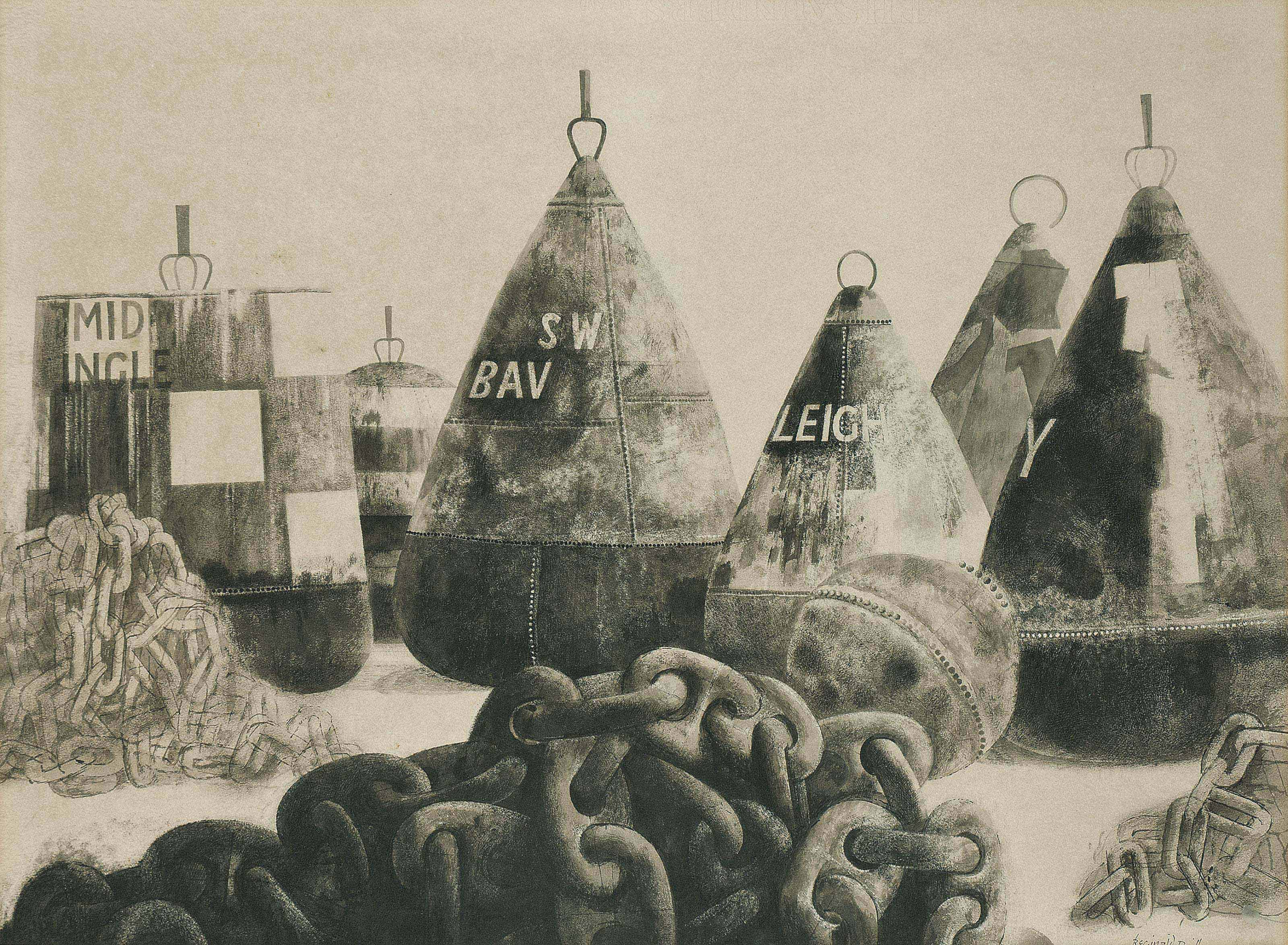 Buoys and Chains, Harwich