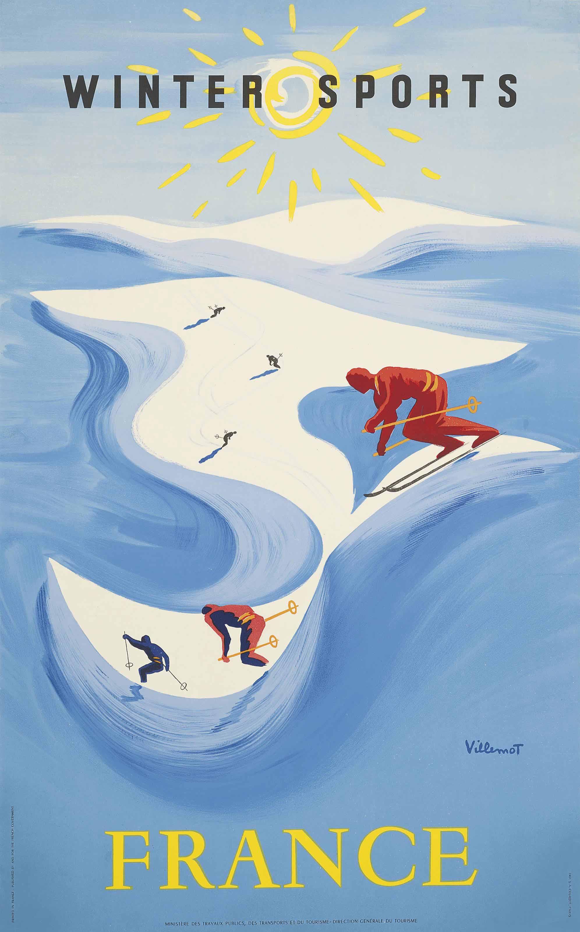 Bernard Villemot (1911-1989)