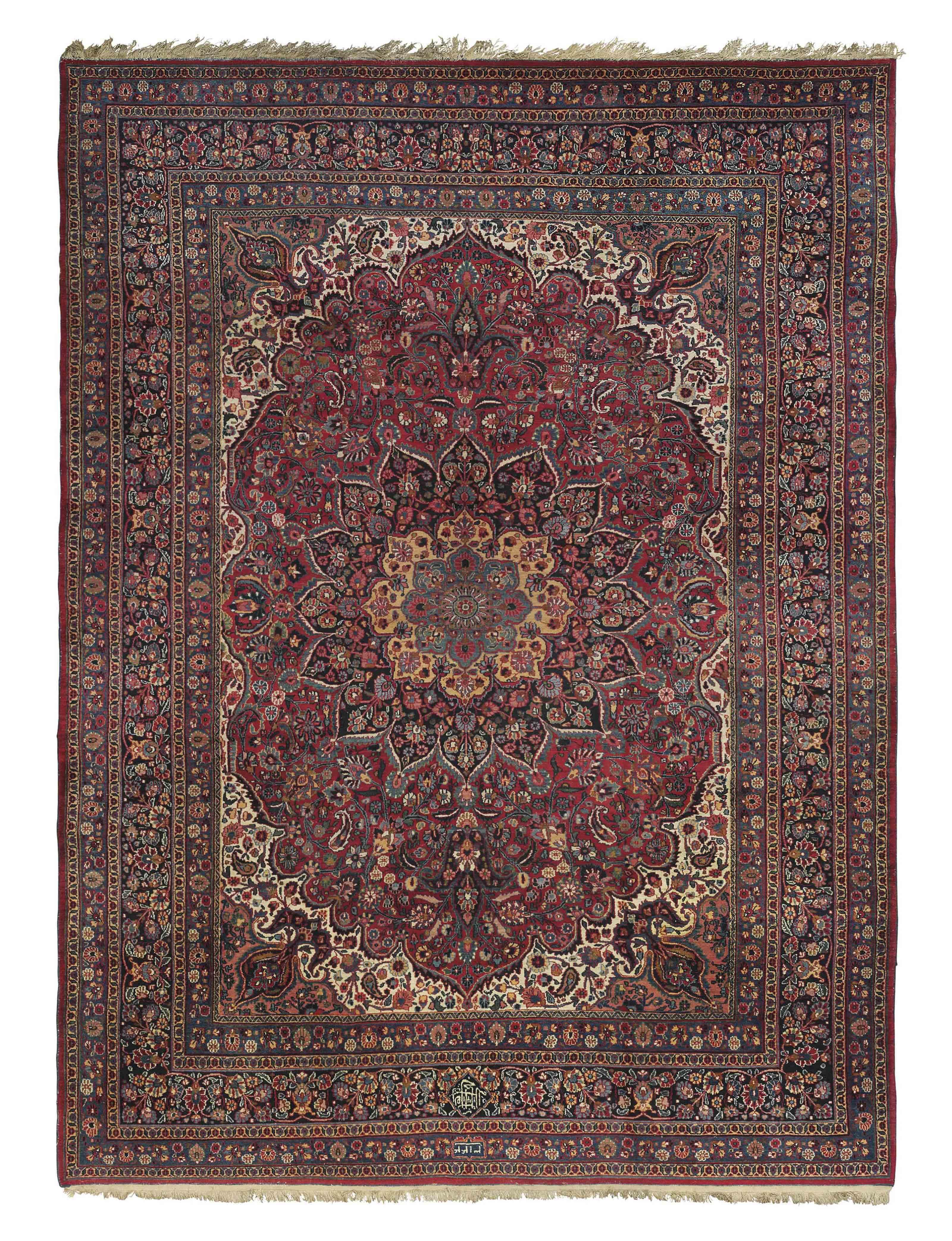 A Meshed 'Bihanian' carpet