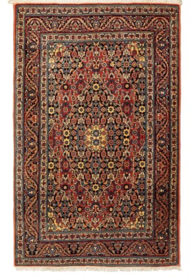 A pair of fine Tabriz rugs