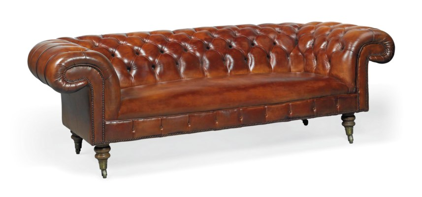A GEORGE SMITH CHESTERFIELD SO