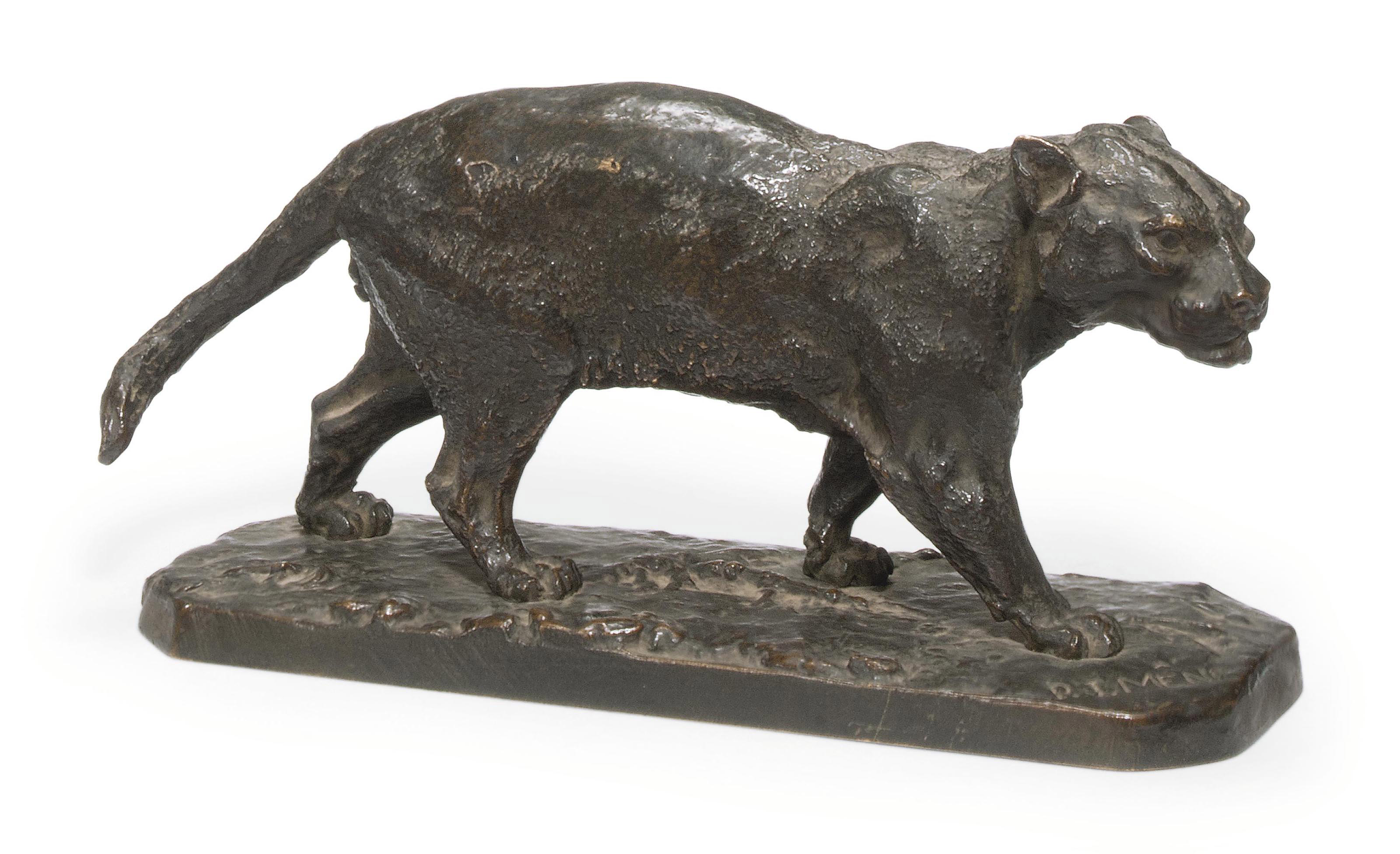 A FRENCH BRONZE MODEL OF THE '