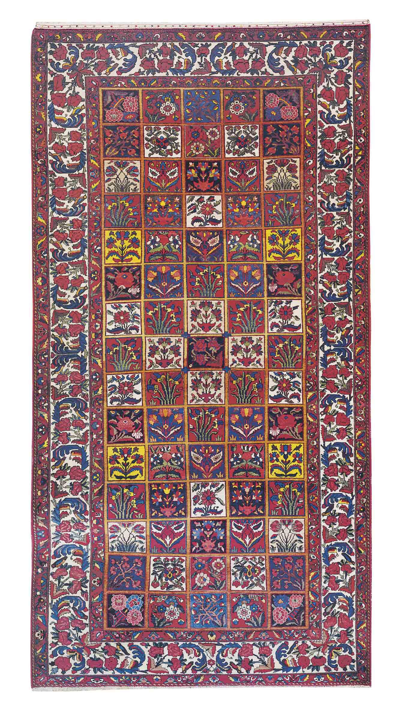 A fine Bakhtiari carpet