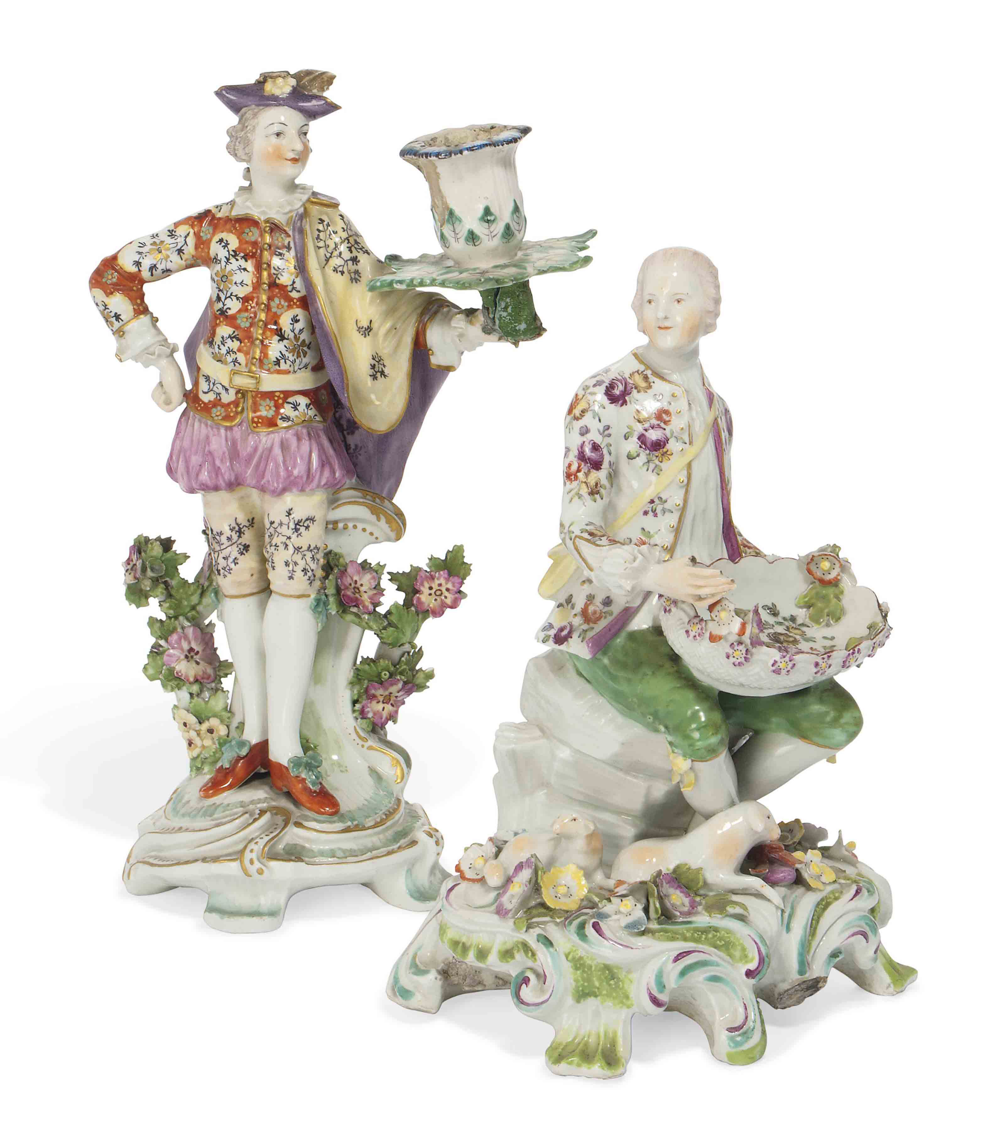 TWO DERBY FIGURES
