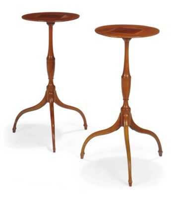 A PAIR OF LATE VICTORIAN MAHOG