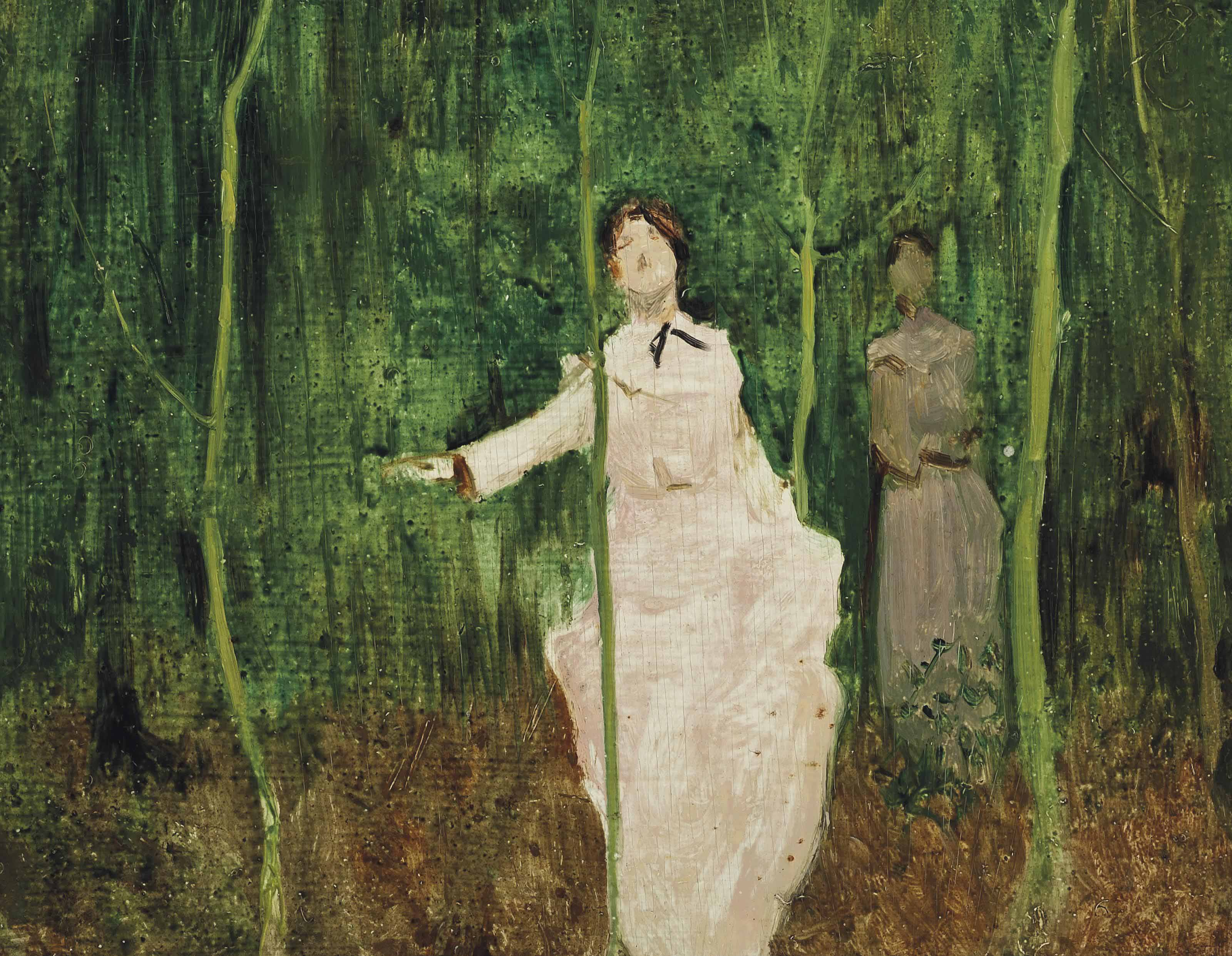 Ladies in a wood