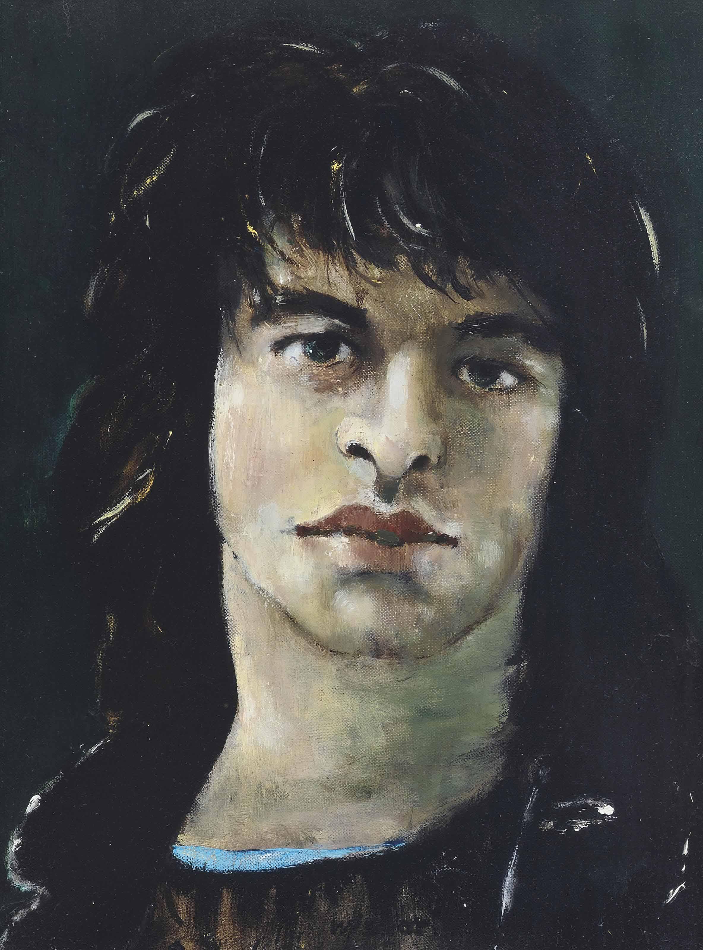 Portrait of Oliver Tobias