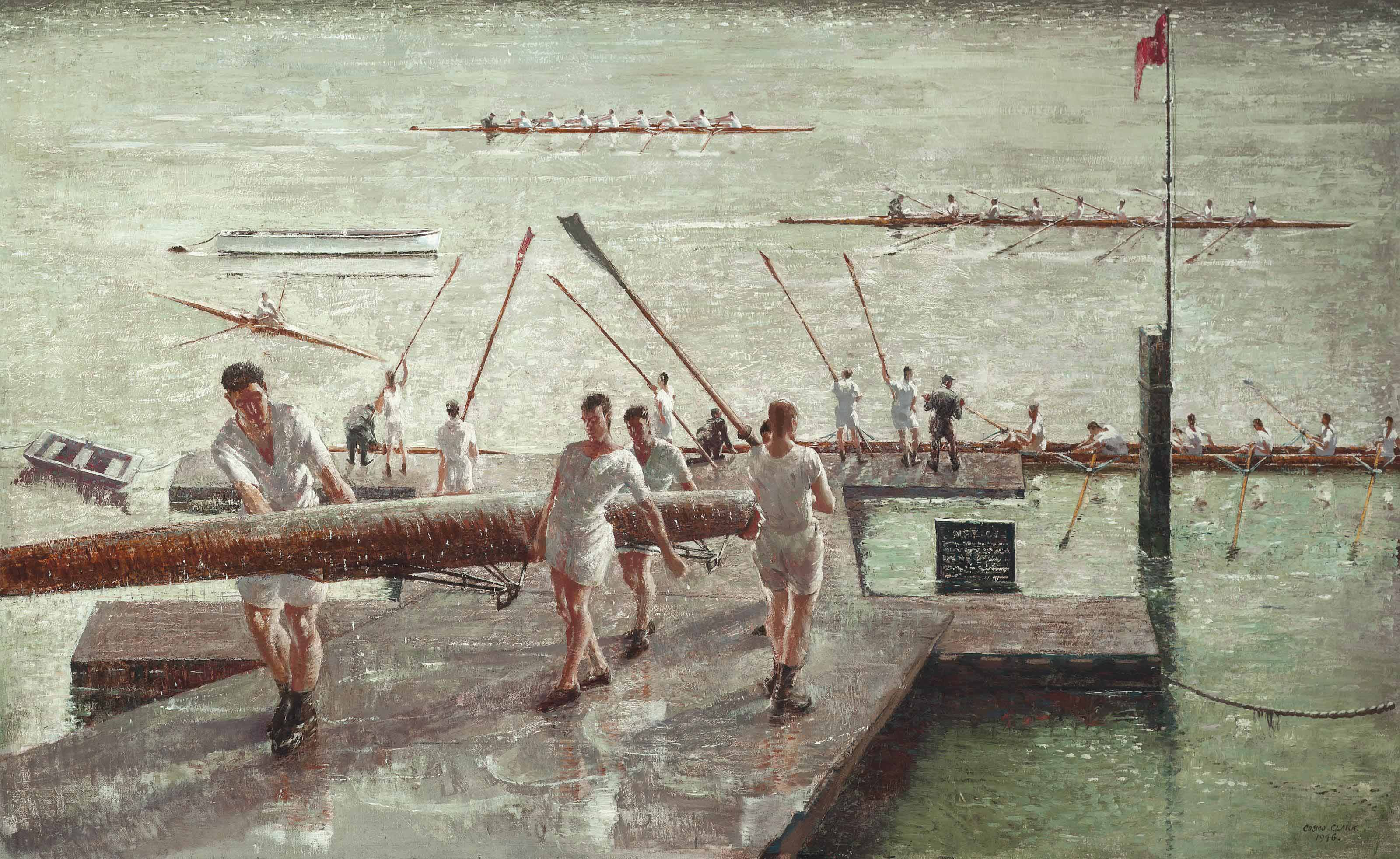 Scullers and Eights at Henley