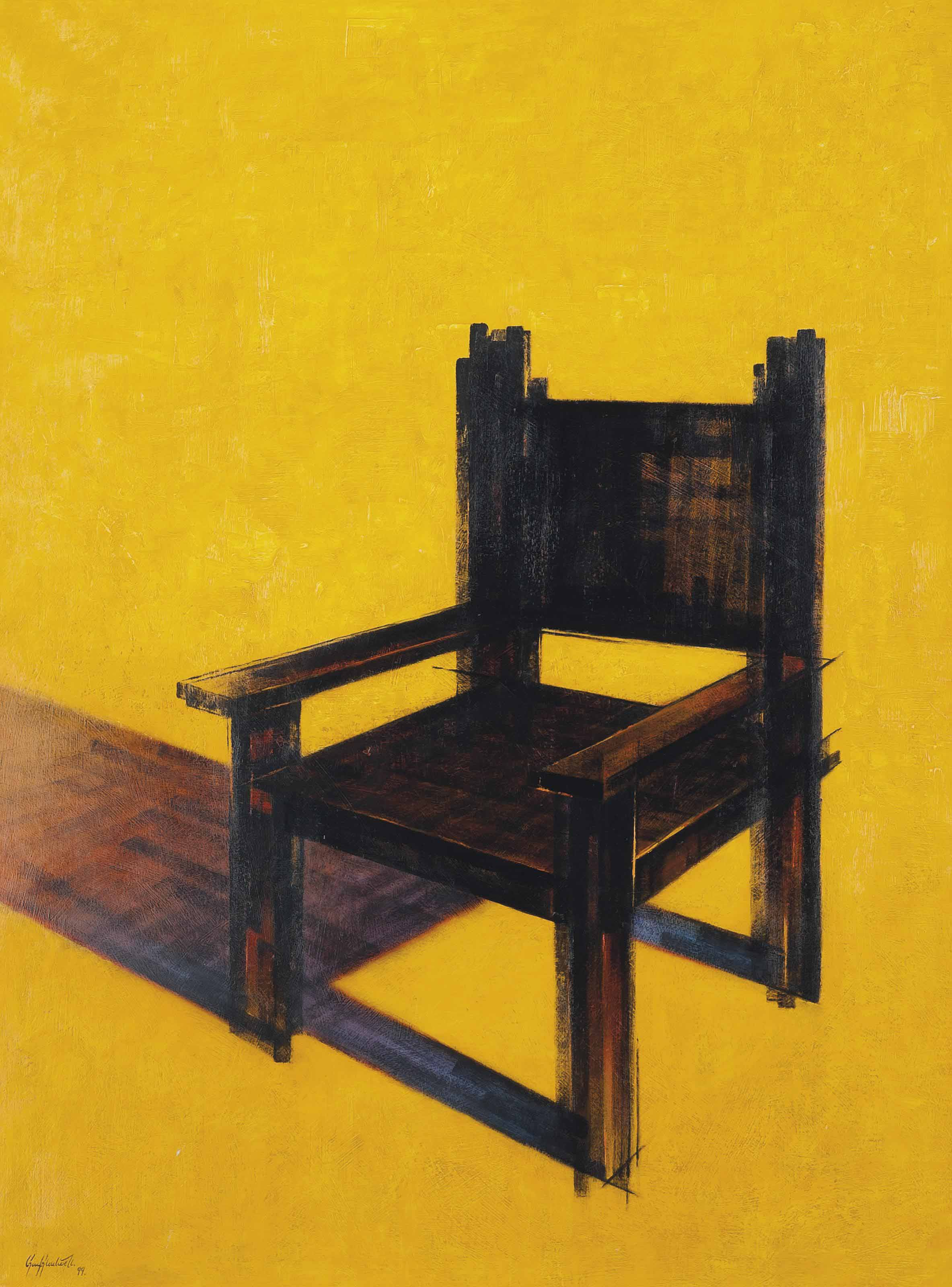 Very square chair