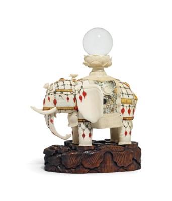 An Impressive Ivory and Shibay
