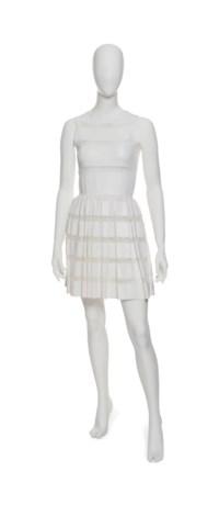 A WHITE DAY DRESS