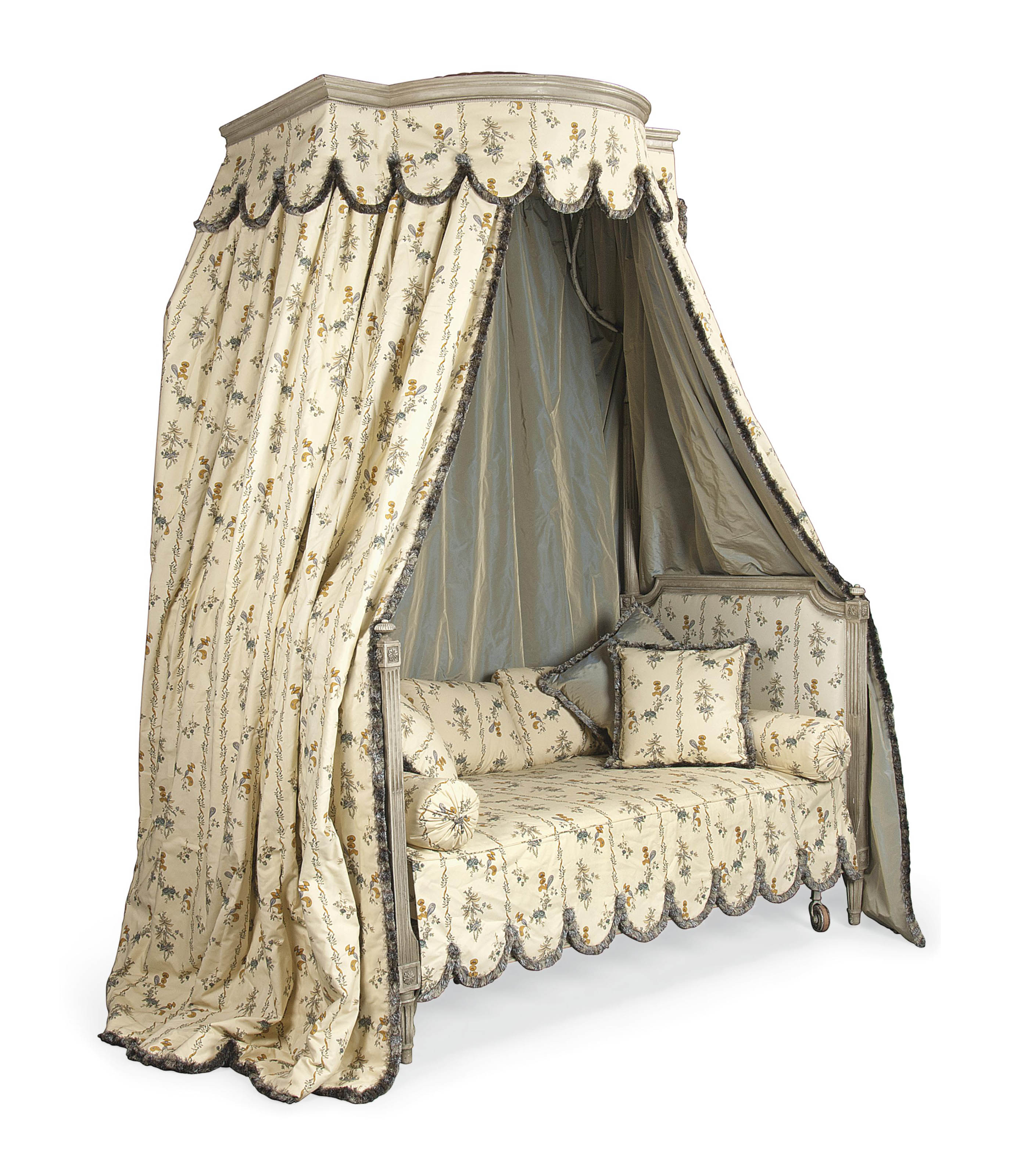 a louis xvi lit en chaire a precher 18th century and later christie 39 s. Black Bedroom Furniture Sets. Home Design Ideas