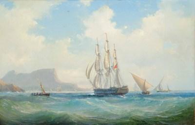 Vilhelm Melbye (Danish, 1824-1