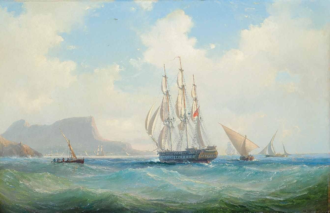Vilhelm Melbye (Danish, 1824-1882)