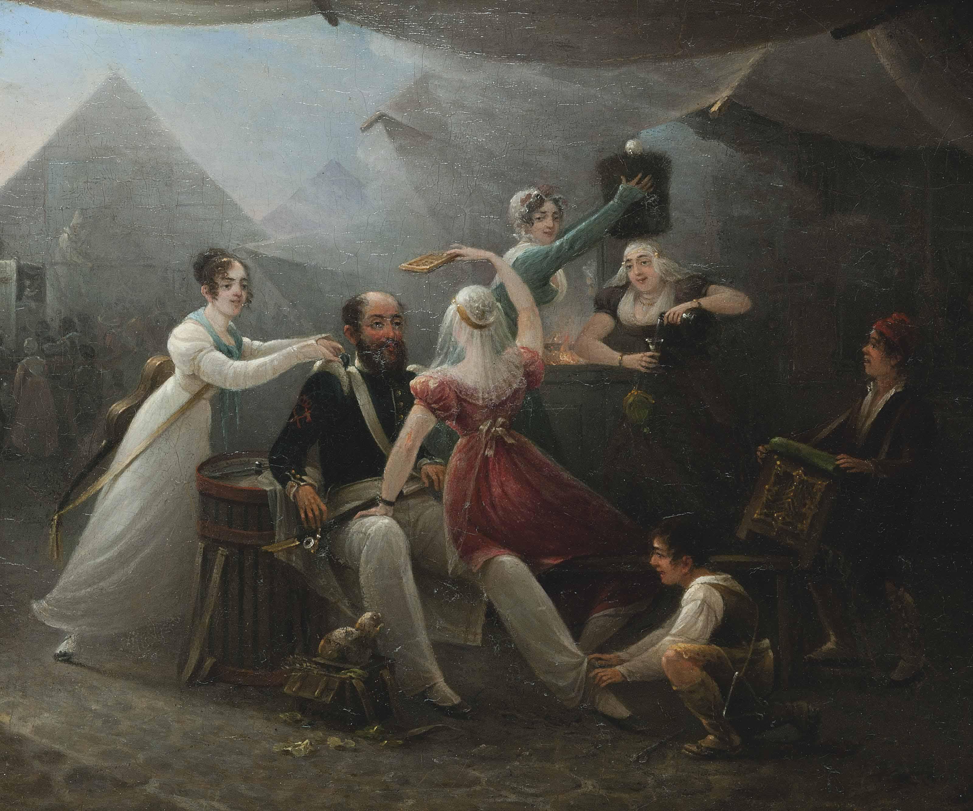Petrus Groenia (Dutch, 1767-18