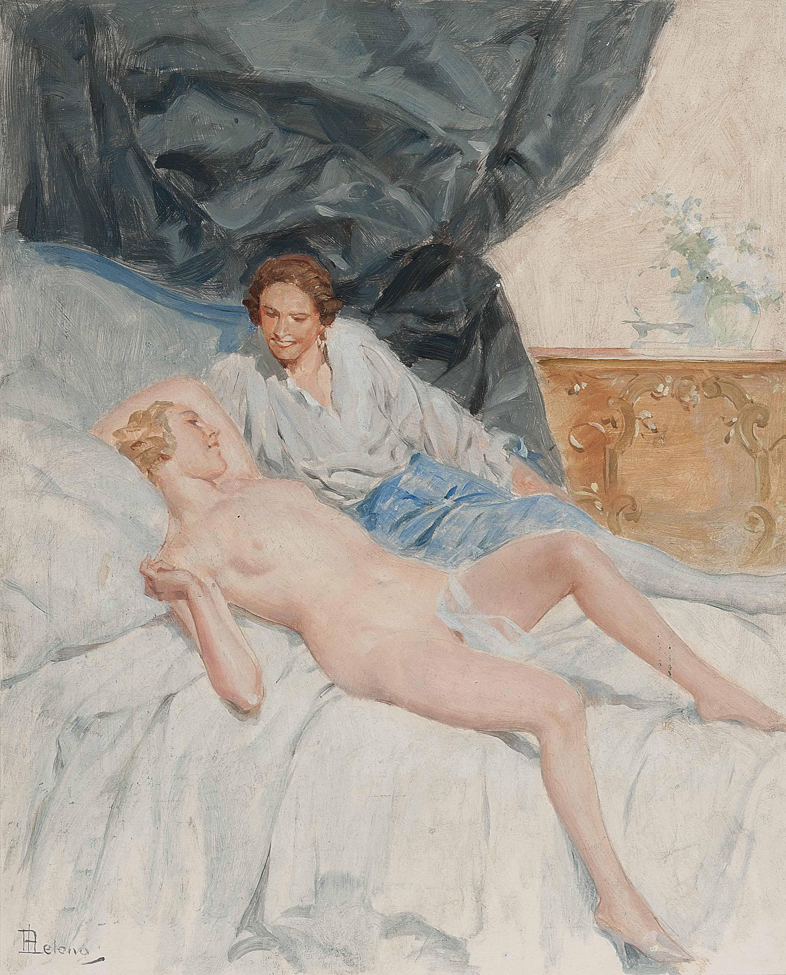 René Lelong (French, 19th/20th