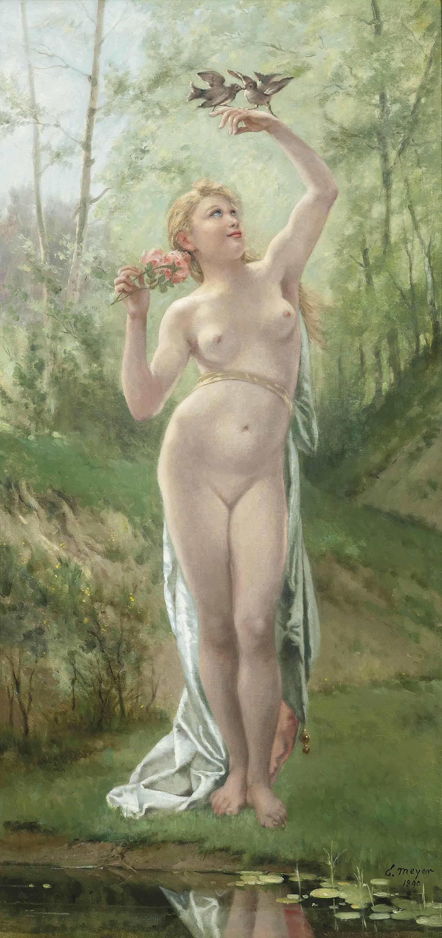 Emile Meyer (FRENCH, 1823-1893