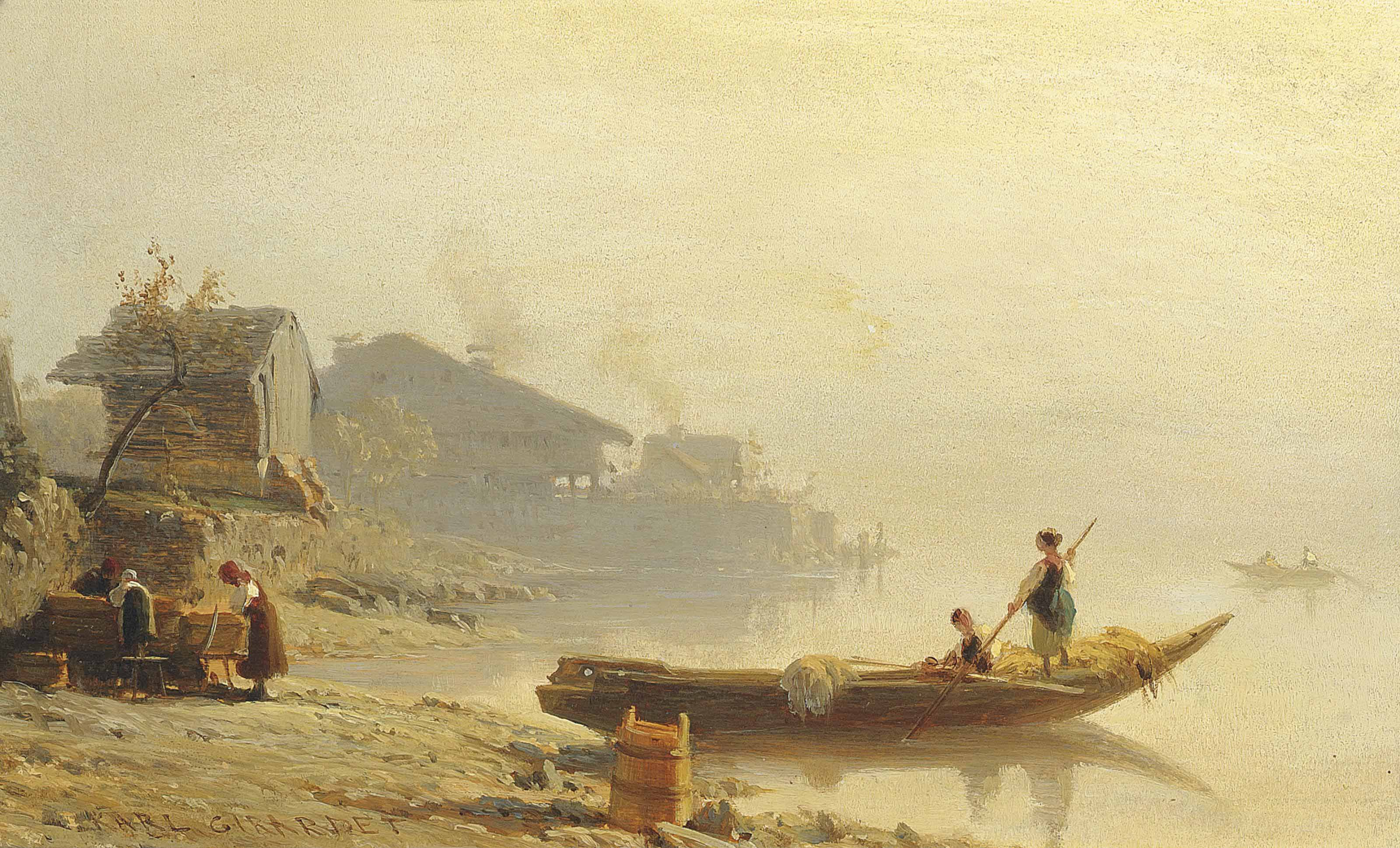 Karl Girardet (FRENCH, 1813-18