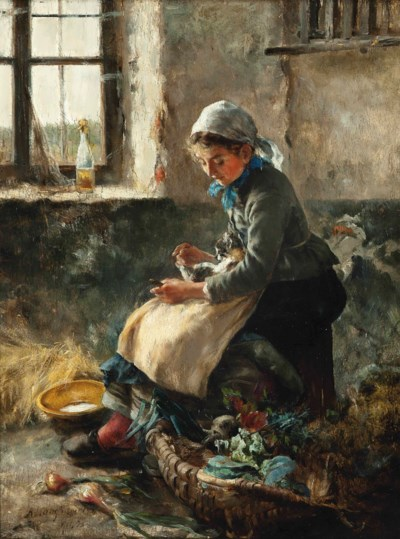 Arthur Langhammer (German, 185