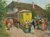 The stagecoach stop