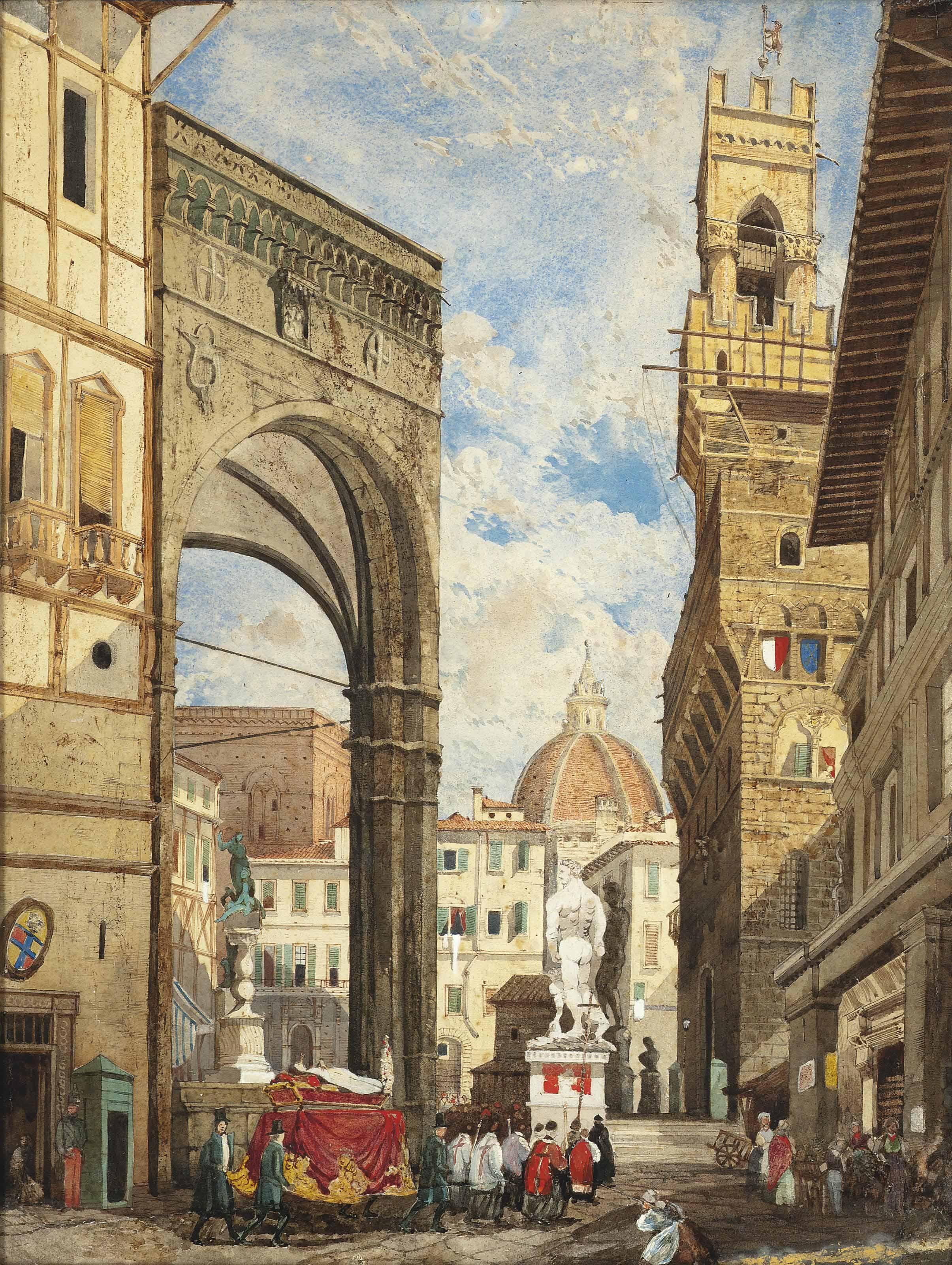 Florentine School, 19th Centur